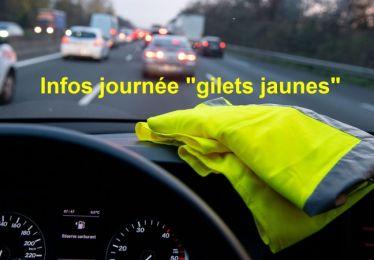 "Informations manifestation ""gilets jaunes"""