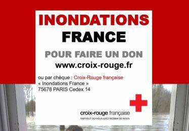 Don pour la population sinistrée de l'Aude