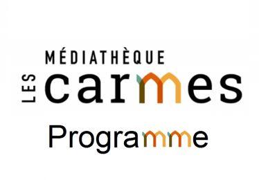 Programme médiathèque les Carmes